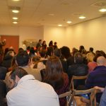 Alumnes i familiars de l'intercanvi assisteixen a la jornada de benvinguda