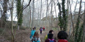 Sortida de senderisme de l'Agrupació Excursionista de Martorell