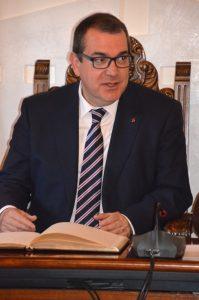 Visita del conseller d'interior, Jordi Jané