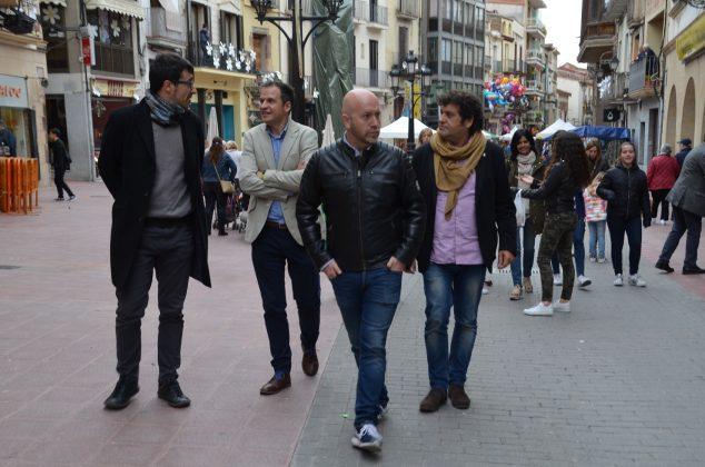 Passejada dels regidors per la Vila