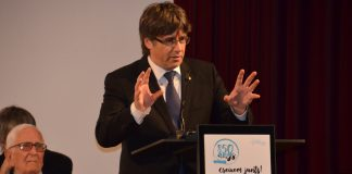 Discurs del president Puigdemont