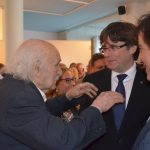 El president Puigdemont i Jaume Muxart