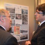 El president visita l'exposició dels 850 anys de l'Hospital.