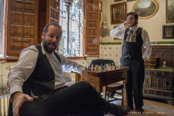 Visites teatralitzades a l'Enrajolada. Foto: Carles Porta
