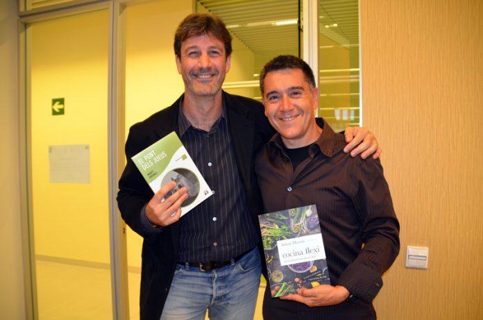 Fira del Llibre. Adam Martín i Martí Gironell.