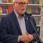 Inauguració de la 39a Fira del Llibre. Francesc Querol