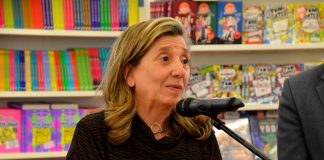 Inauguració de la 39a Fira del Llibre. Isona Passola