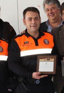 Ivan González, el voluntari més jove de Protecció Civil Martorell