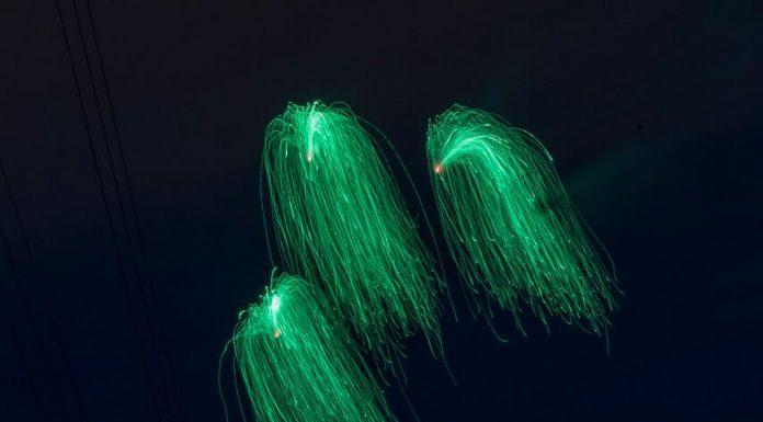 Piromusical de la Fira de Primavera. FOTO: Carles Porta